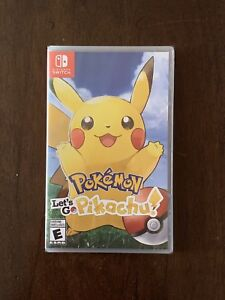 Pokémon Let's Go Pikachu - Nintendo Switch