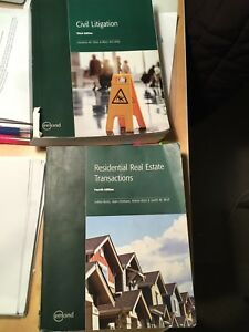 Law clerk textbooks for sale