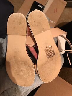7fefc5a14771 Witchery Carrie sandal butter soft nude leather Size 40