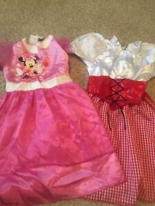 Red Riding Hood and Minnie Mouse Costume dresses