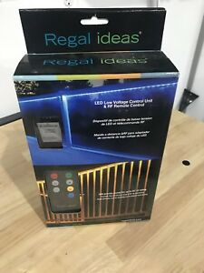 Regal Railing LED lighting controller and remote