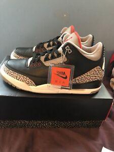 Jordan 3 black cement Size 10.5