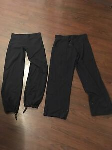 Two pairs of size 12 Lulu pants