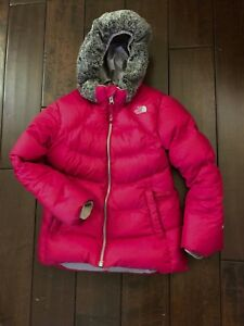 North Face Down Jacket Girls