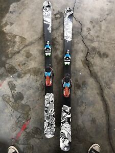 K2 skis dynastar bindings