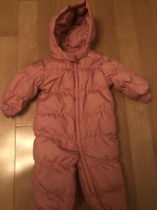 Gap 12-18 snowsuit