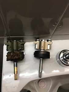 Hot water tank,hose bibs,gas lines