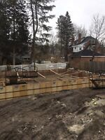 Concrete, Excavation and Landscaping