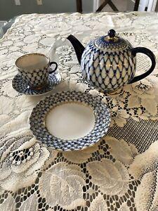Lomonosov Russian Tea Set