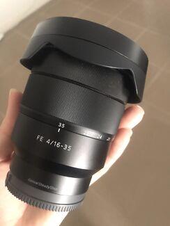 Sony Vario-Tessar T FE 16-35mm f/4 ZA OSS lens