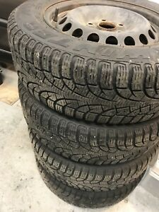 5x112 VW rims and Pirelli winters 195/64r15