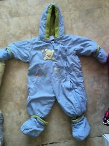 Boys 6-12 m snow suit