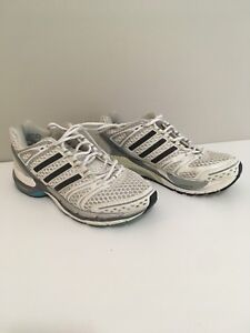 Adidas running shoes size 8 women pre owned