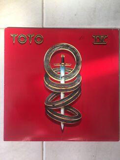 Toto Original Vinyl Record Album LP