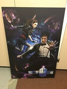 Doctor Who Poster and Book