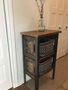 Rustic Nightstand / Table