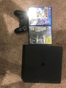 PS4 slim 500gb with 2 games