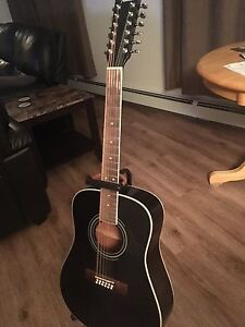 Acoustic 12 string Fender  guitar CD160SE