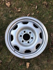 Ford steel rims.