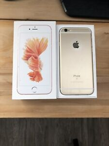 Gold IPhone 6s 32gb Factory Unlocked Perfect Condition