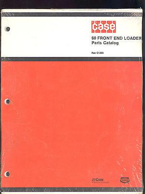 J I Case Parts Manual 60 Front End Loader  Rac C1269