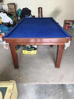 Slate blue pool table 8 x 5