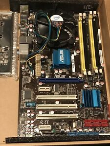 Asus Motherboard and cpu