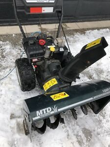 Snowblower/lawn tractor maintenance and repairs