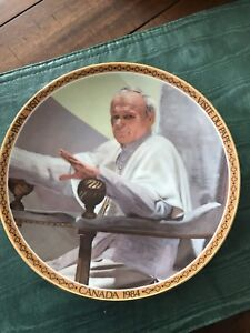 Pope collectors plate