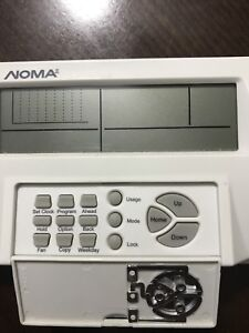 Noma 7 day programable thermostat