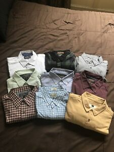 Mens Button-Up Shirts! (Medium) LOT