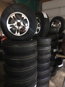 NEW Aluminum Trailer Tires & Rims