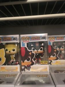$75 for all Sonic the Hedgehog Funko POP's