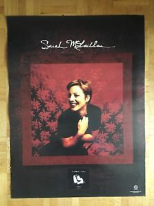 Double sided Sarah McLachlan poster