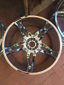"""24"""" project rims 24inch 300c Chrysler Beaconsfield Fremantle Area Preview"""