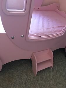Pink Princess Carriage Kids Single Bed Almost New Bald Hills Brisbane North East Preview