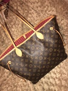 Real LOUIS VUITTON NEVERFULL GM