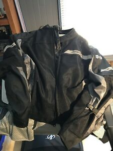 Manteau moto homme