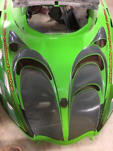 2001 Arctic Cat ZR800 hood.