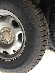 Winter tires and rims F1 50