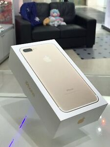 BRANAD NEW IPHONE 7 PLUS 32GB GOLD WARRANTY UNLOCKED TAX INVOICE Surfers Paradise Gold Coast City Preview