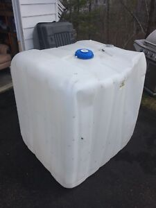 Large 300gallon plastic tanks