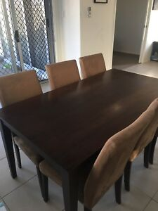 dining table and chairs in Brisbane Region QLD Gumtree