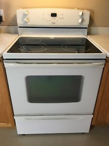 Electric, smooth top stove