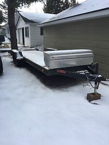 atv, utv sled trailer