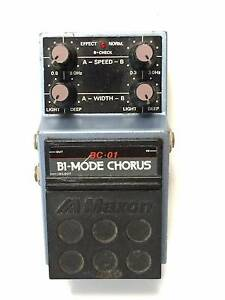 Maxon BC-01, Bi-Mode Chorus, Made In Japan, 80's, Guitar Effect P Brisbane City Brisbane North West Preview
