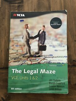 The Legal Maze VCE Units 1 and 2