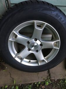 Alloy wheels, winter tires, monster mats, roof rack Touareg, Q7
