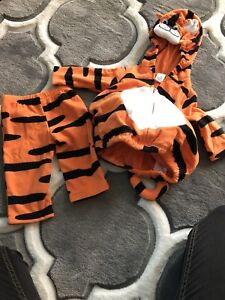 3-6 month tiger costume
