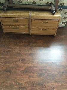 Bedroom end tables (2)